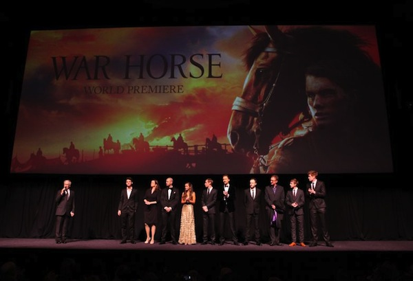 War Horse Premiere Spielberg And Cast