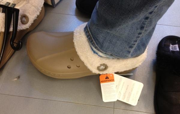 Wordless Wednesday - Me in Crocs