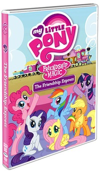 My LittlePony Friendship Express Dvd