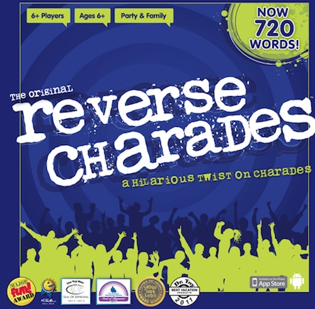 Reverse Charades Game Box