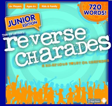 Reverse Charades Junior Game Box