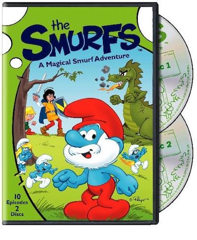 The Smurfs: A Magical Smurf Adventure Dvd review