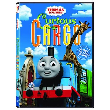 Thomas & Friends Curious Cargo Dvd review