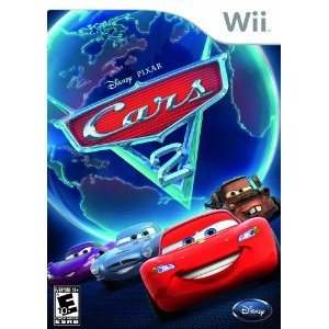Cars 2 Wii Cover