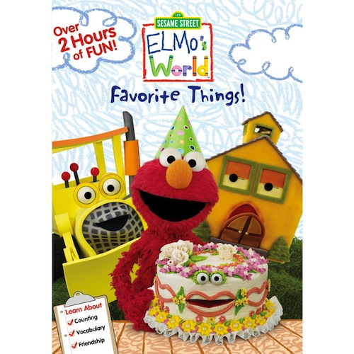 Elmos Favorite Things Dvd