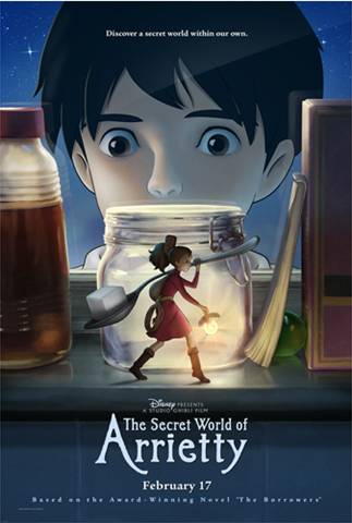 Secret World Of Arrietty Poster