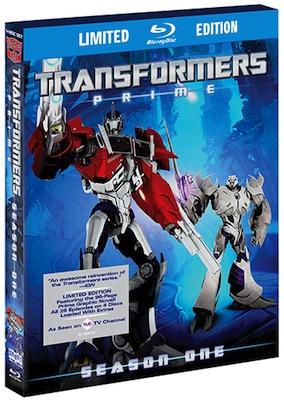 Transformers Prime Cover
