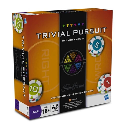 Trivial Pursuit Bet You Know It Box