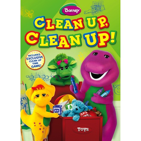 Barney Clean Up Clean Up DVD