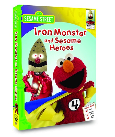 Sesame Street: Iron Monster and Sesame Heroes DVD