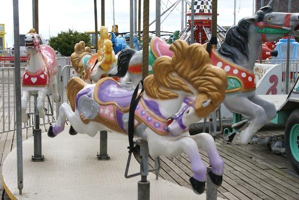 Wordless Wednesday - Carousel Horses