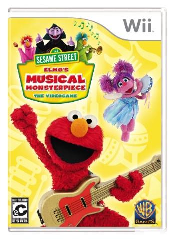 Sesame Street Elmos Musical Monsterpiece