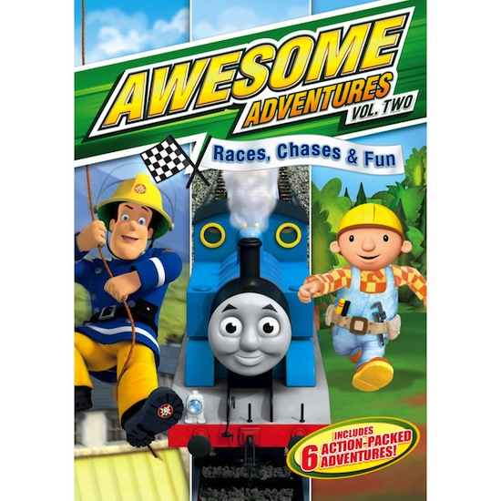 DVD REVIEW AND GIVEAWAY – Awesome Adventures Vol. Two: Races, Chases & Fun