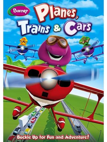 Barney: Planes, Trains & Cars Dvd