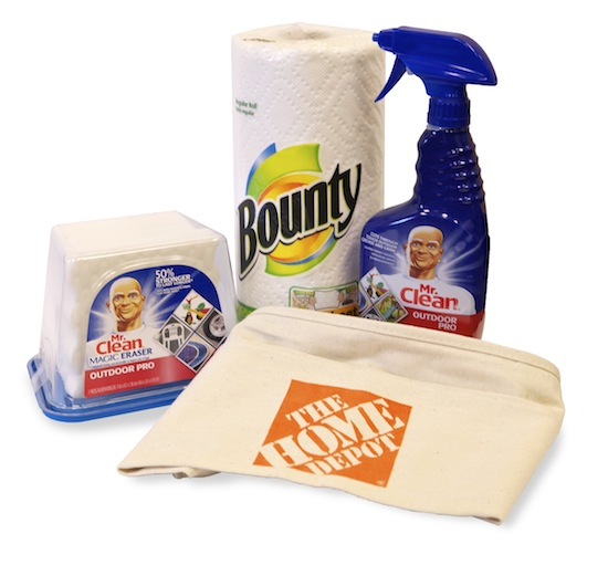 Summer Spruce Up With P&G And Home Depot – With #Giveaway