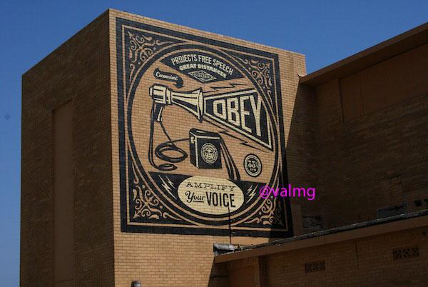 Wordless Wednesday - Voice building photo, Asbury Park, NJ