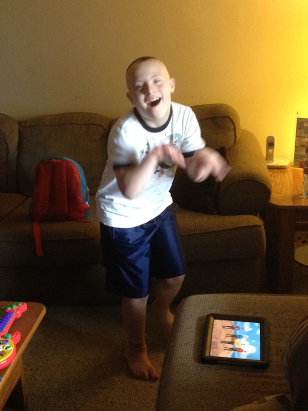 Wordless Wednesday - My Son Dancing To The Wiggles