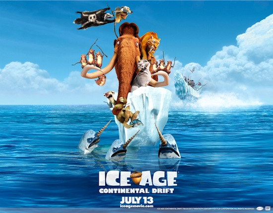 New Clip From Ice Age Continental Drift – With #IceAge4 Giveaway