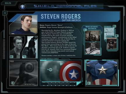 Marvels The Avengers Second Screen