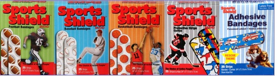 Sports Shield Bandages