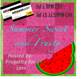 Summer Sweet and Fruity giveaway button