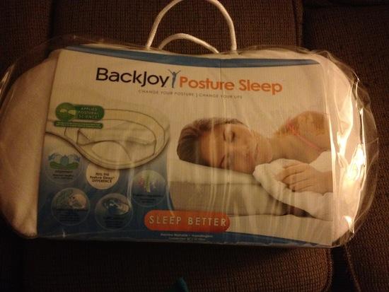 BackJoy Posture Sleep Pillow