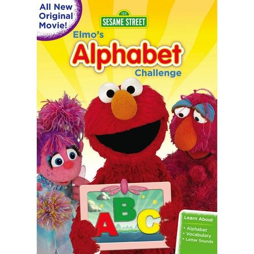 Elmo's Alphabet Challenge Dvd