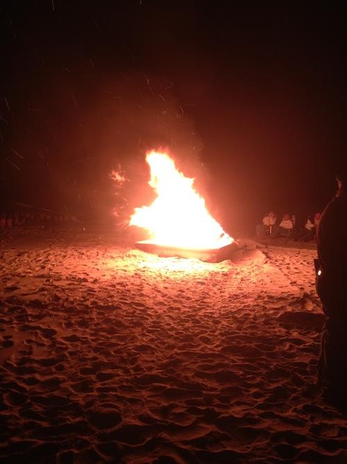POW/MIA Watchfire 2012 Burning