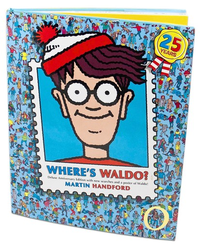 Where's Waldo? book cover