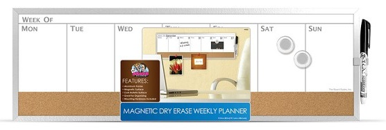 Board Dudes Combo Weekly Planner