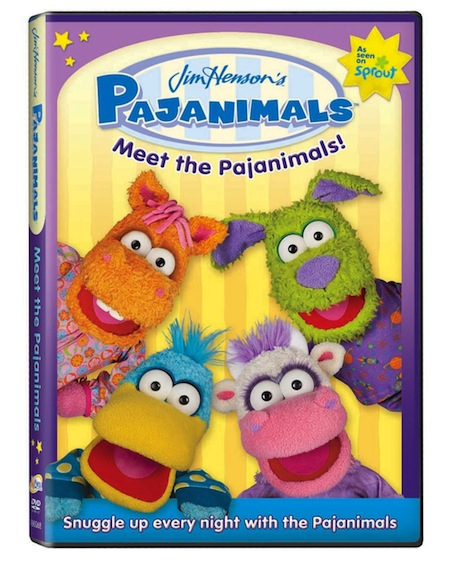 Meet The Pajanimals Dvd