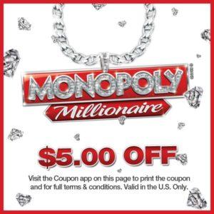 Monopoly Millionaire Coupon