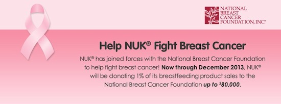 Nuk Breast Cancer Banner