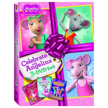 Dvd Review Angelina Ballerina Celebrate With Angelina 3 Dvd Set