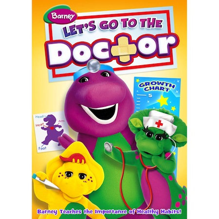 Barney Lets Go To The Doctor DVD