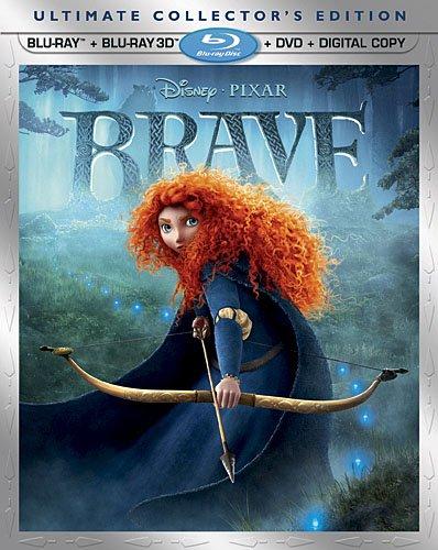 Disney Pixar Brave Blu-ray