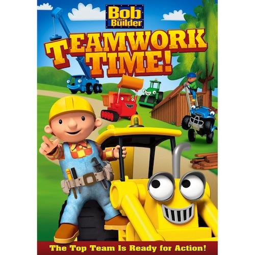 Bob The Builder: Teamwork Time Dvd
