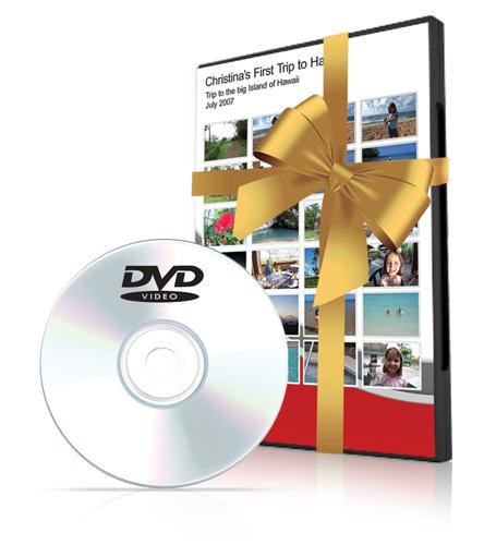 YesVideo DVD gift