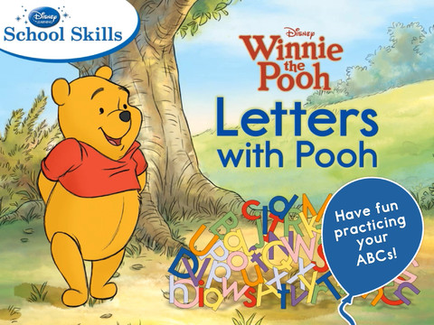 Letters With Pooh App