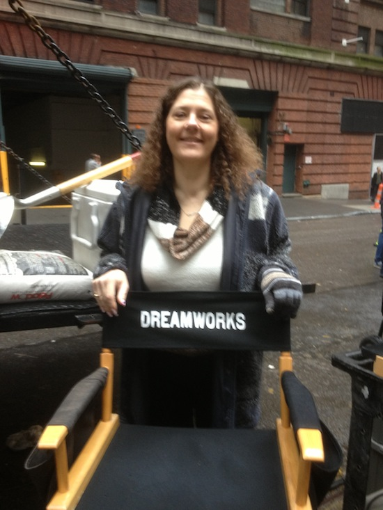 Wordless Wednesday - Me On Delivery Man Set