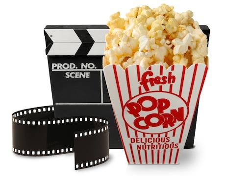 Movie Film And Popcorn