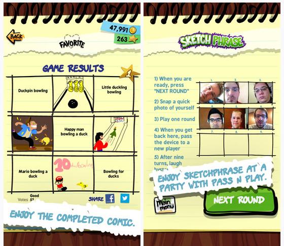 SketchPhrase app