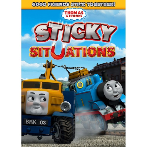 Thomas & Friends: Sticky Situations Dvd