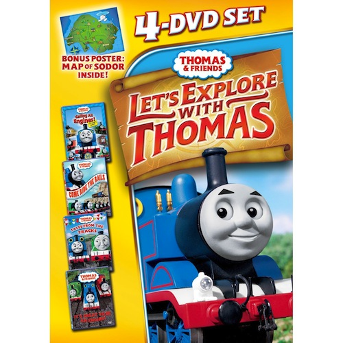 Thomas & Friends: Lets Explore With Thomas Dvd