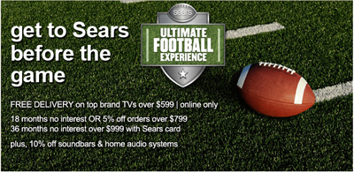 Sears Ultimate Football Experience