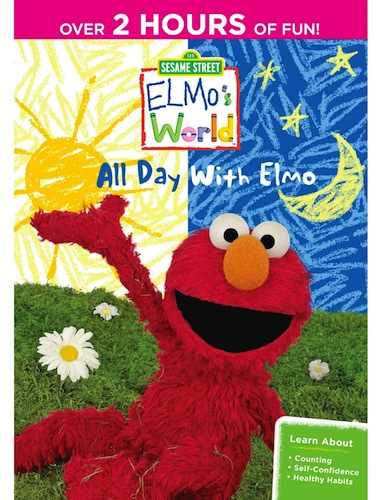 Sesame Street: Elmo's World: All Day With Elmo Dvd