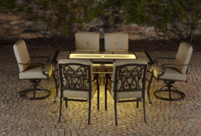 Sears Lighted Patio Furniture #GrillingIsHappiness