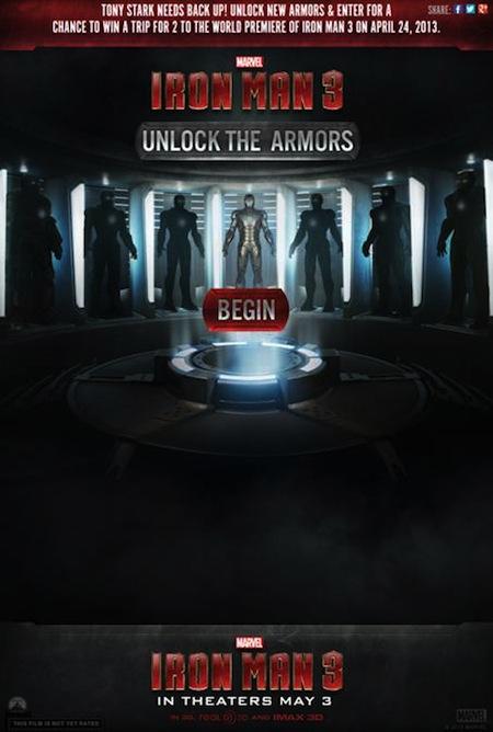 Iron Man 3 Unlock The Armors