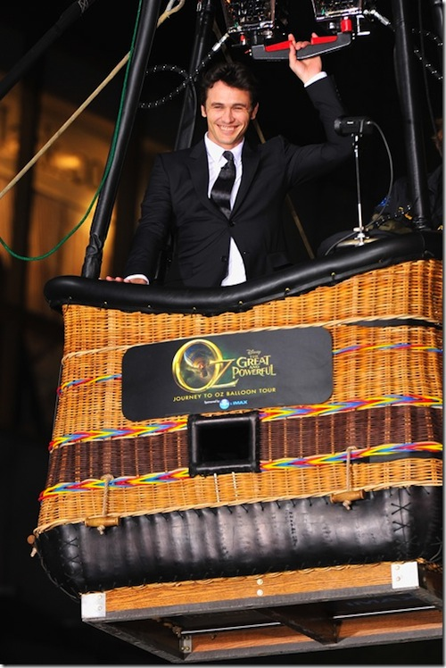 Oz The Great And Powerful - Interview with James Franco - #DisneyOzEvent