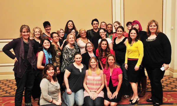 Oz The Great And Powerful - Interview with James Franco - Group Photo - #DisneyOzEvent